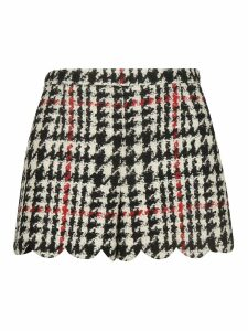 RED Valentino Patterned Skirt