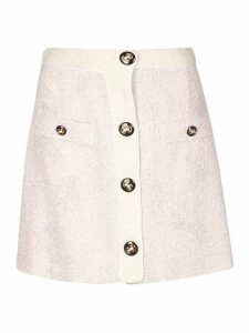 Alessandra Rich Tweed Skirt