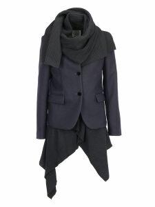 Sacai Melton Knit Coat