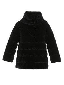 Herno Quilted Velvet Down Jacket