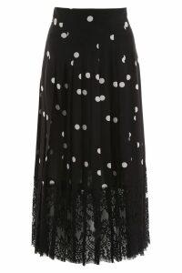 Dolce & Gabbana Polka Dots Midi Skirt