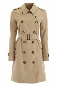 Burberry Kensington Midi Raincoat