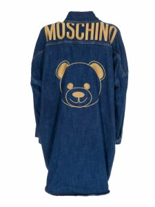 Moschino Denim Shirt Dress