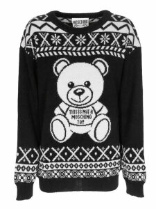 Moschino This Is Not A Toy Knit Sweater