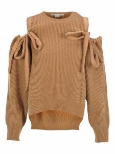 Stella Mccartney Off-the-shoulders Sweater