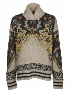 Etro Embroided Knit Sweater