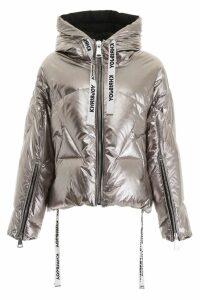 Khrisjoy Metallic Khris Puffer Jacket