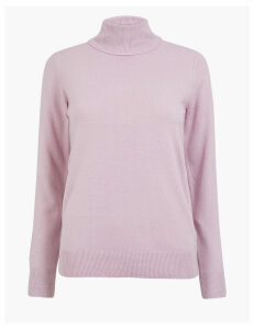 M&S Collection Roll Neck Jumper