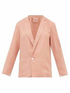 Loup Charmant - Saint Denis Linen Blazer - Womens - Pink