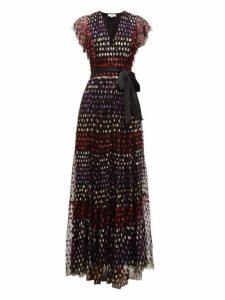 Temperley London - Wendy Sequinned Tulle Dress - Womens - Multi