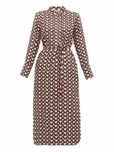 S Max Mara - Egoista Dress - Womens - Red Multi