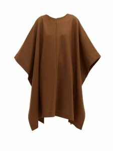 A.p.c. - X Suzanne Koller Margarete Wool Blend Dress - Womens - Brown