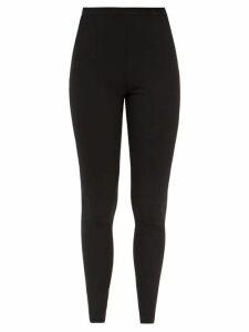 Halpern - Metallic Draped Lamé Bustier Blouse - Womens - Green