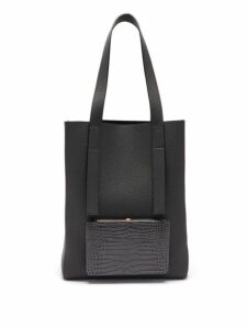 Lutz Morris - Seveny Grained Leather Tote Bag - Womens - Navy
