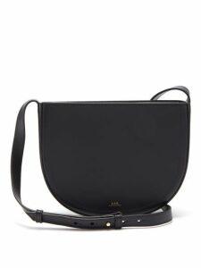 A.p.c. - Juliette Leather Cross Body Bag - Womens - Black