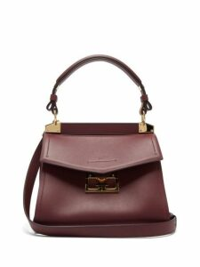 Givenchy - Mystic Small Leather Shoulder Bag - Womens - Burgundy