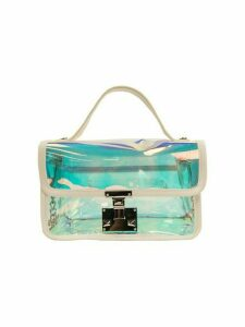Quinn Jelly Flap PVC Crossbody Bag