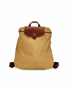 Foldable Top Zip Backpack