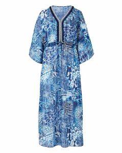 Joanna Hope Jewel Kaftan Maxi Dress