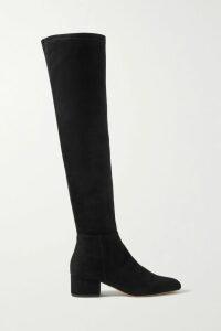 Loewe - Cushion Leather-trimmed Canvas Tote - Orange