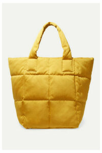 Dries Van Noten - Quilted Sateen Tote - Yellow