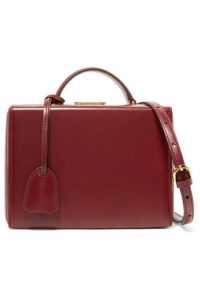 Mark Cross - Grace Small Leather Shoulder Bag - Burgundy