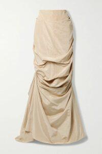 SAINT LAURENT - Nolita Medium Quilted Leather Shoulder Bag - Beige