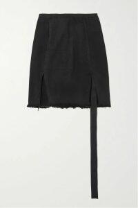 Valentino - Valentino Garavani Vring Textured-leather Shoulder Bag - Pink