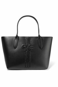 Anya Hindmarch - The Neeson Leather Tote - Black
