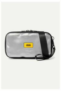 Crash Baggage - Icon Mini Metallic Hardshell Pouch - Silver