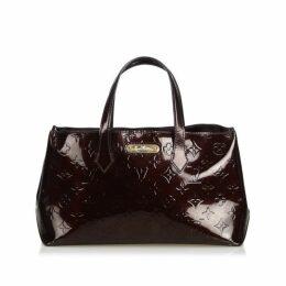 Louis Vuitton Purple Vernis Wilshire Pm