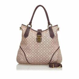 Louis Vuitton Brown Monogram Mini Lin Elegie