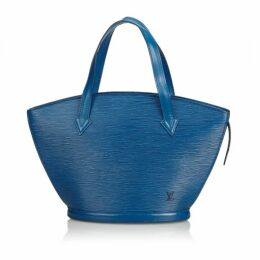 Louis Vuitton Blue Epi Saint Jacques Pm
