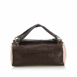 Prada Brown Leather Handbag