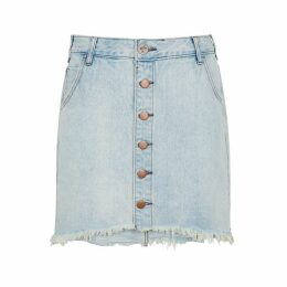 Oneteaspoon Viper Blue Denim Mini Skirt