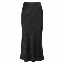 Bec & Bridge The Kat Tiger-jacquard Midi Skirt