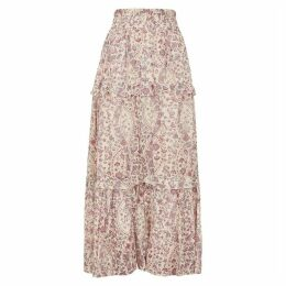 Isabel Marant Étoile Lineka Printed Cotton Maxi Skirt