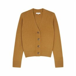 Vince Brown Cashmere Cardigan