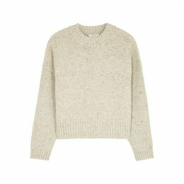Vince Donegal Cream Wool-blend Jumper