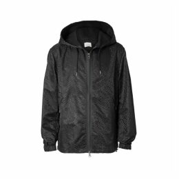 Burberry Monogram Econyl Jacquard Hooded Jacket