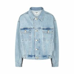 AGOLDE Charlie Light Blue Denim Jacket