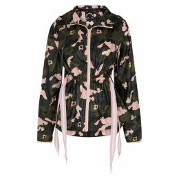 The Upside Forest Camo Ash Printed Shell Jacket