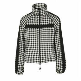 Adam Selman Sport Checked Shell Jacket