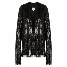 Galvan Stardust Fringed Sequin Jacket