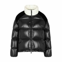 Moncler Chouelle Black Quilted Shell Jacket