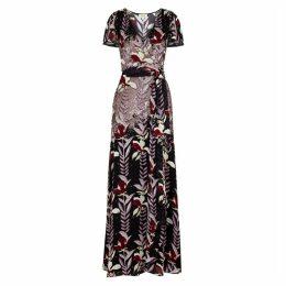 Temperley Bellflower Sequin-embellished Printed Dress