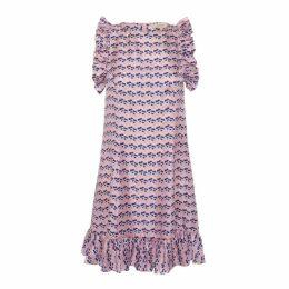 Lisou Darcy Silk Ruffle Dress