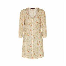 ALEXACHUNG Paisley-print Mini Dress