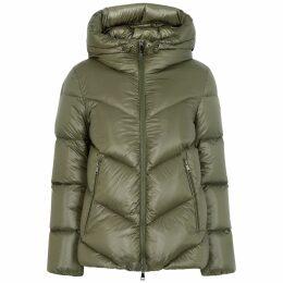 Kenzo Black Tiger-embroidered T-shirt Dress