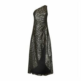 Aidan Mattox One Shoulder Gown